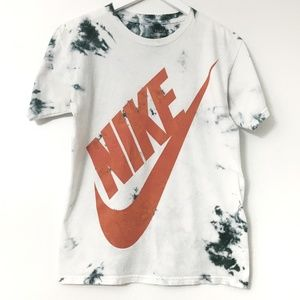 Nike Tie Dye Ombre Lightening Running Shirt Medium